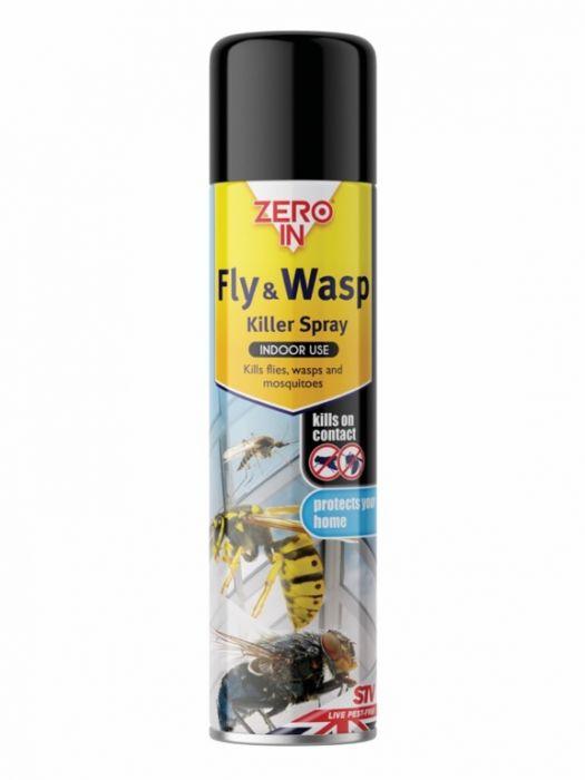 Zero In Fly & Wasp Killer 300Ml Aerosol
