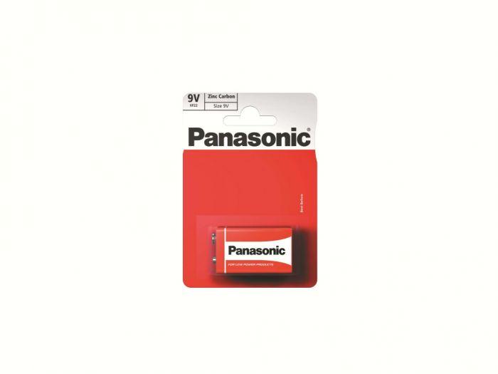 Panasonic Zinc Carbon Battery 9V (Card 1)
