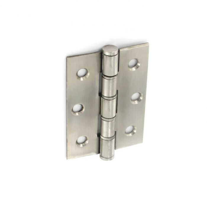 Securit Double Washered Stainless Steel Hinges (Pair) 75Mm