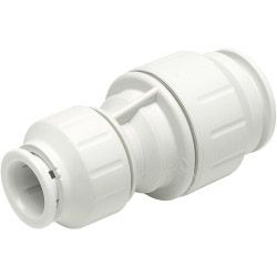 Jg Speedfit Reducing Straight Coupler - White 22Mm X 15Mm Pack Of 5