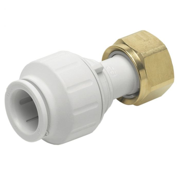 Jg Speedfit Straight Tap Connector 15Mm X 1/2 Tsp Pack 5