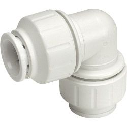 Jg Speedfit Equal Elbow Connector 10Mm - Pack 10 - White