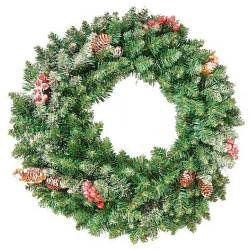 Sherwood Frosted Wreath