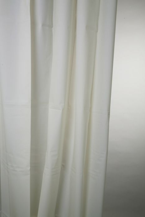 Blue Canyon Peva Shower Curtain 180 X 180Cm Plain White