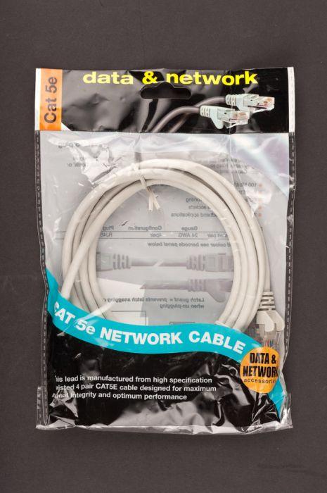Dencon Cat 5E Network Cable 2M Grey