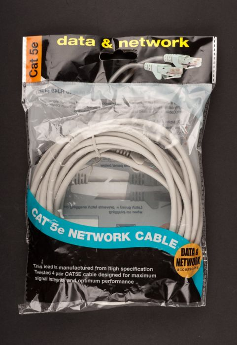 Dencon Cat 5E Network Cable 5M Grey