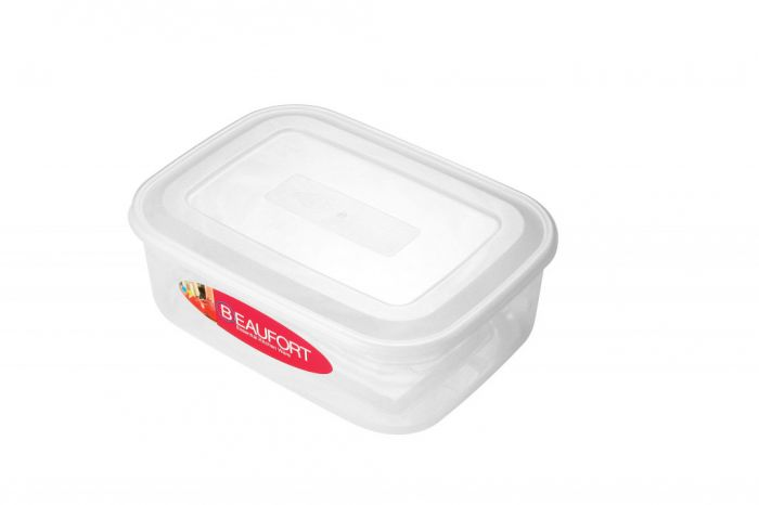 Thumbs Up Rectangular Container Clear 3L