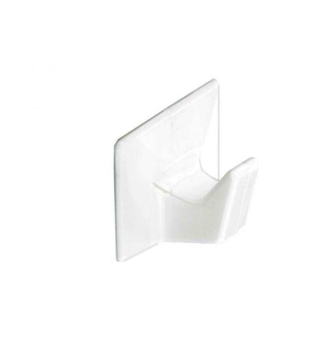 Securit Self-Adhesive Hooks White (4) Small