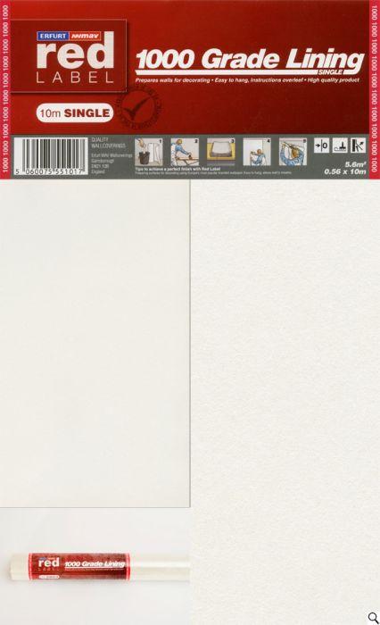 Erfurt Lining Paper 1000 Grade