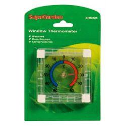Supagarden Window Thermometer