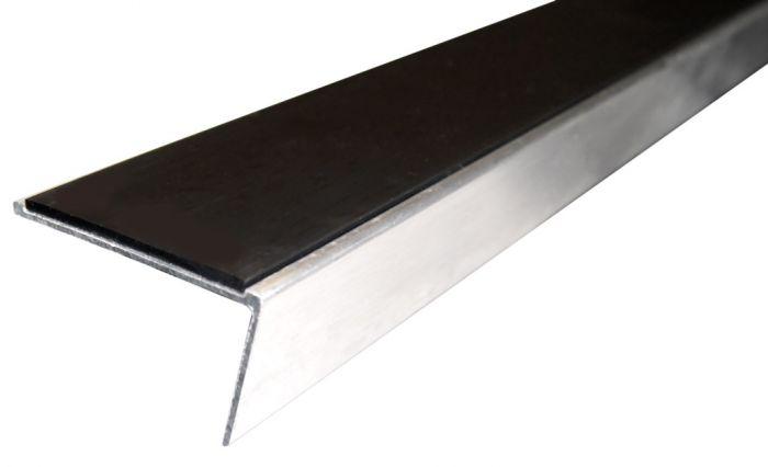 Stikatak Slimline Single Raked Back Aluminium