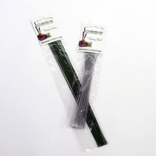 Oasis Hobby Wire - Green Lacquered Wire 10 X 22 Gauge X 25G