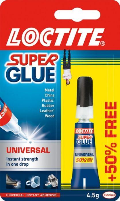 Loctite Super Glue 3G Tube Plus 50% Free
