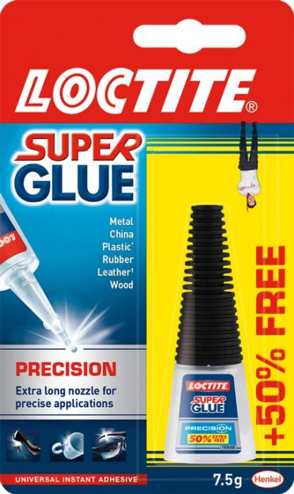 Loctite Precision Super Glue 5G Plus 50% Free