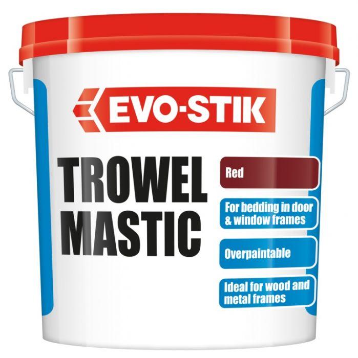 Vallance Trowel Mastic - Red 10Kg