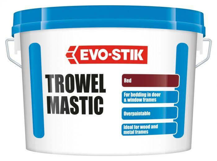 Vallance Trowel Mastic - Red 5Kg