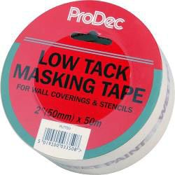 Rodo Low Tack Masking Tape 2/50Mm X 50M