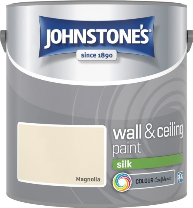 Johnstone's Wall & Ceiling Silk 2.5L Magnolia