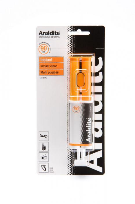 Araldite Instant Clear 24Ml Syringe