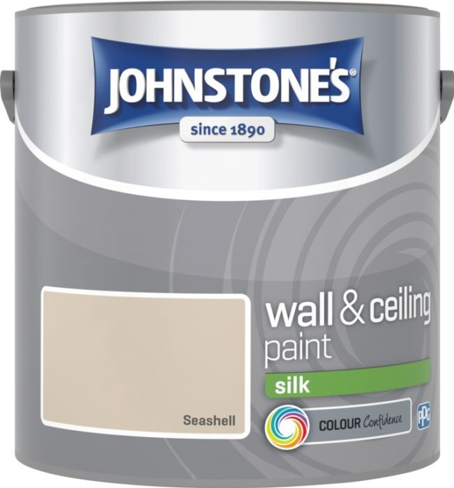 Johnstone's Wall & Ceiling Silk 2.5L Seashell