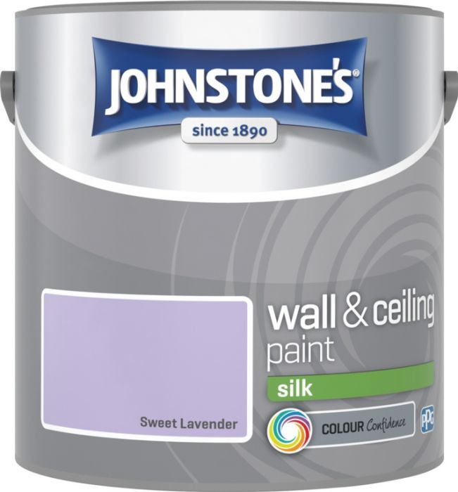 Johnstone's Wall & Ceiling Silk 2.5L Sweet Lavender