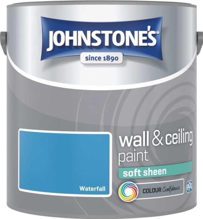 Johnstone's Wall & Ceiling Soft Sheen 2.5L Waterfall