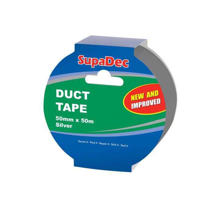 Supadec 50M Duct Tape Silver