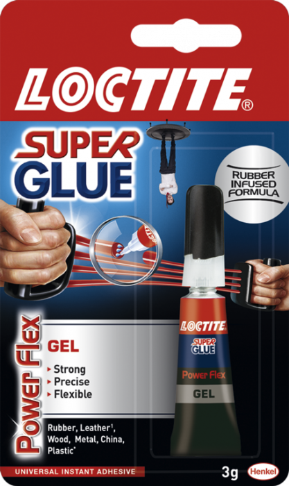 Loctite Super Glue Gel Powerflex 3G Tube