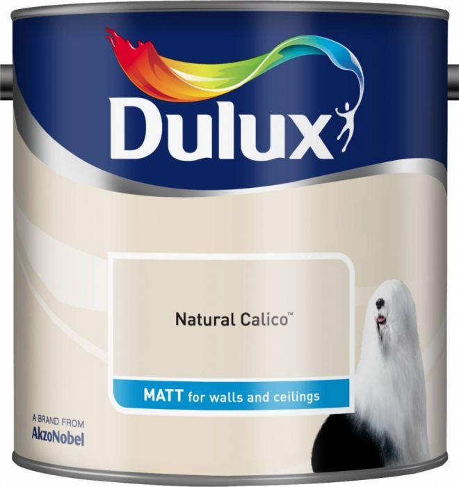 Dulux Matt 2.5L Natural Calico