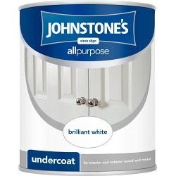 Johnstone's All Purpose Undercoat - Brilliant White 750Ml