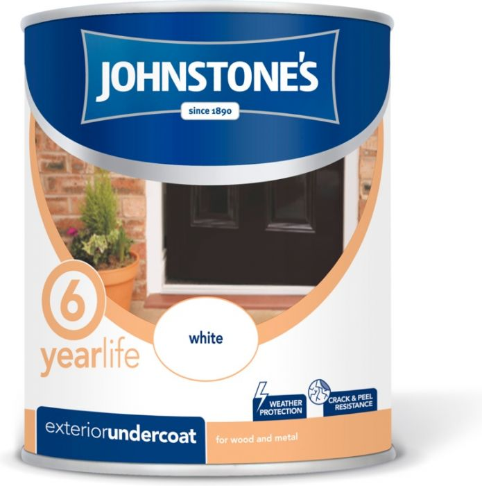 Johnstone's Exterior Undercoat 750Ml White