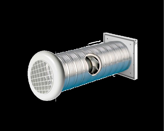 Manrose Slimline Shower Wall Fan 4