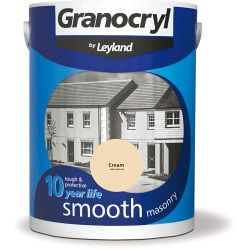 Granocryl Smooth Masonry 5L Cream