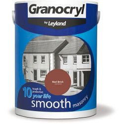 Granocryl Smooth Masonry 5L Red Brick