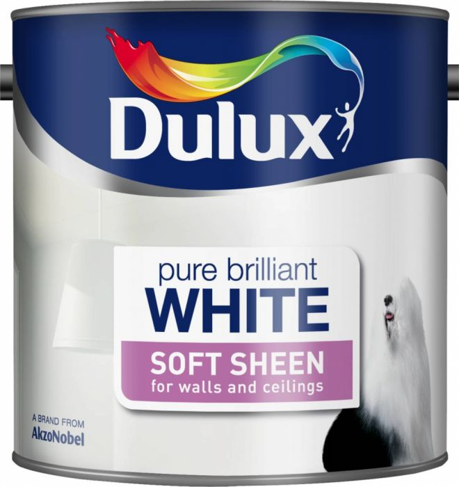 Dulux Soft Sheen 2.5L Pure Brilliant White