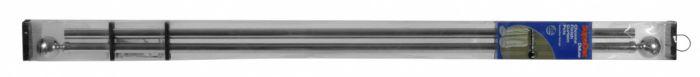 Supadec Chrome Finish Curtain Pole 300Cm 28Mm Diameter