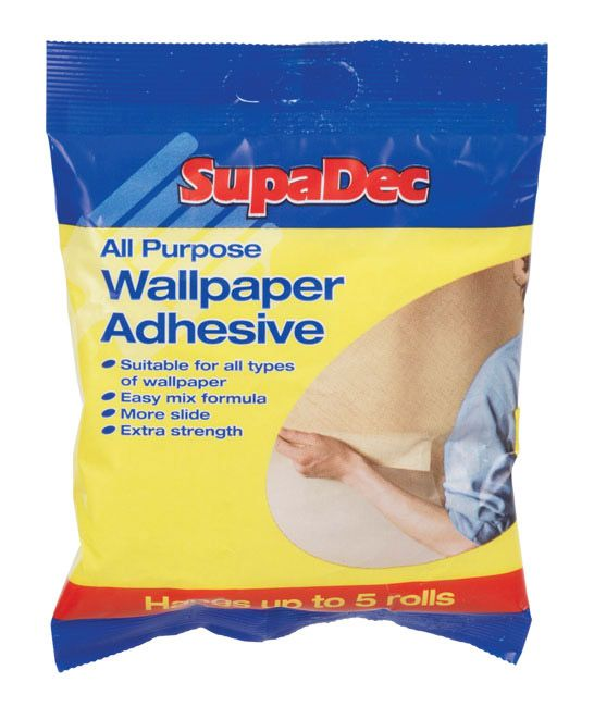 Supadec All Purpose Wallpaper Adhesive Up To 5 Rolls