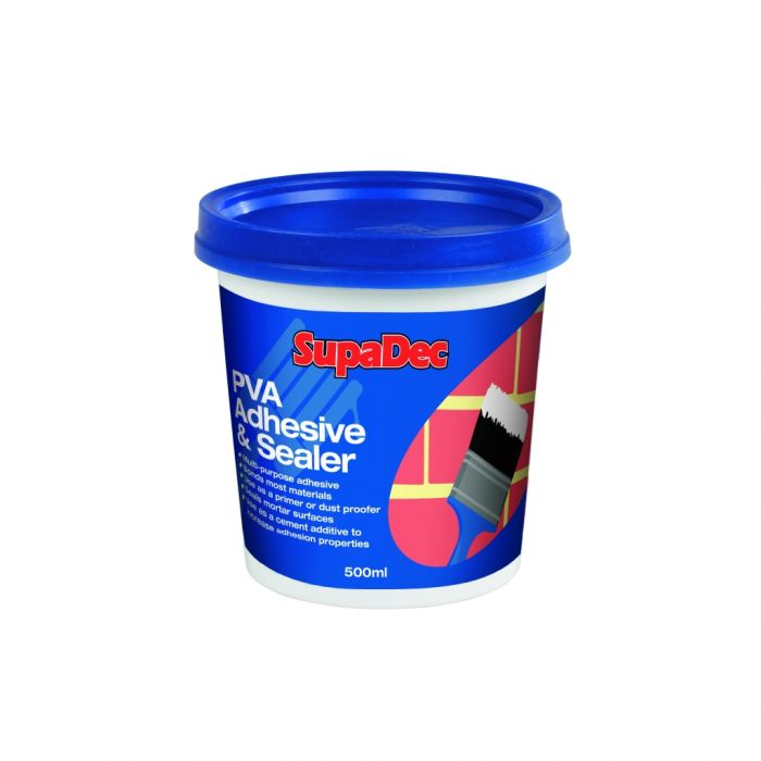 Supadec Pva Adhesive & Sealer 500Ml