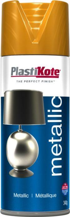 Plastikote Metallic Paint 400Ml Brass