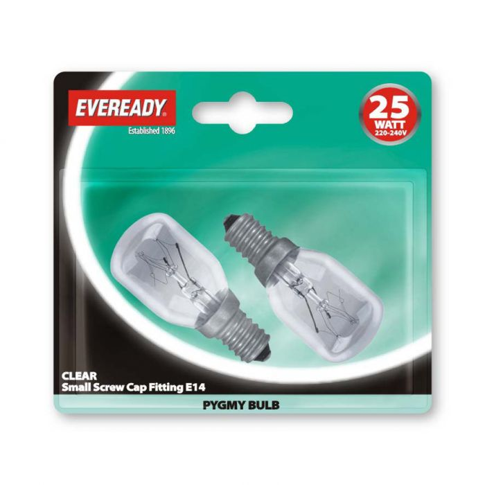 Eveready Pygmy Ses 25W Clear