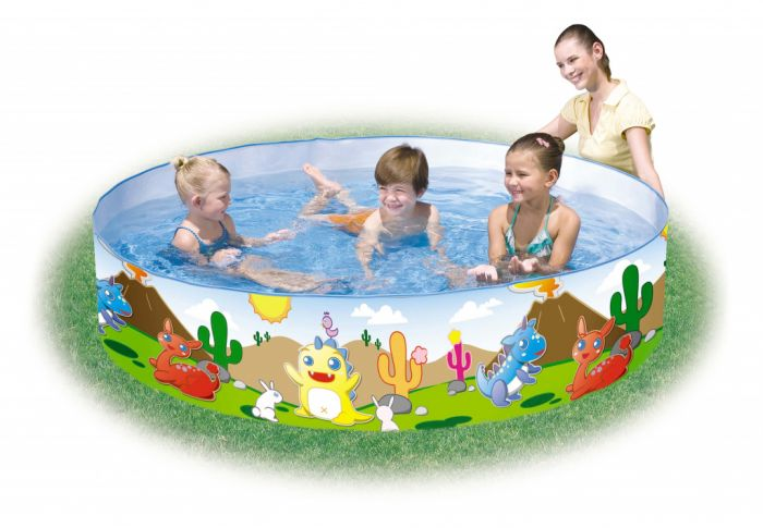 Bestway Dinosaur Fill 'N' Fun Pool 72X15