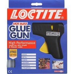 Loctite Hot Melt Glue Gun + 2 Sticks
