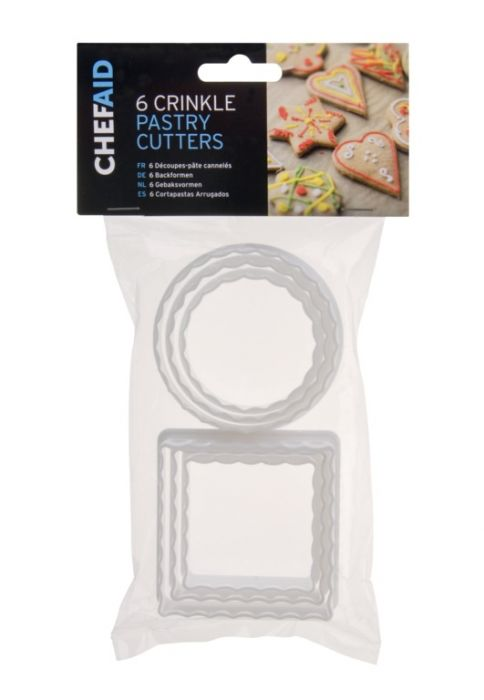 Chef Aid Pastry Cutters Pack 6