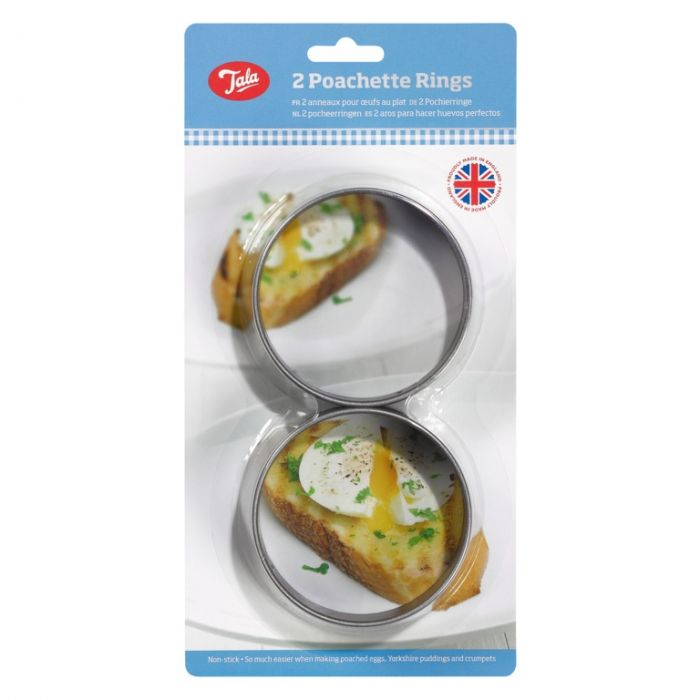 Tala Poachette Ring Non Stick Coated (Set Of 2)