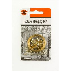 X Picture Hanging Kit (Blister Pack)
