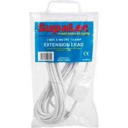 Supalec Extension Lead 1 Gang 5M 13 Amp