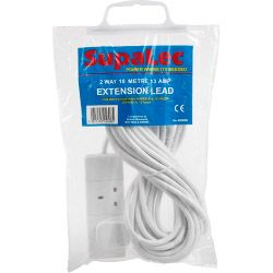 Supalec 2 Gang Extension Lead 10 Metre 13 Amp
