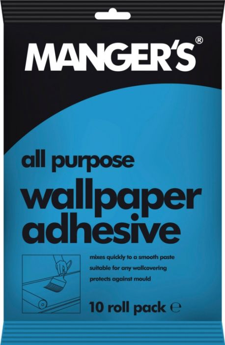Mangers All Purpose Wallpaper Adhesive 10 Roll