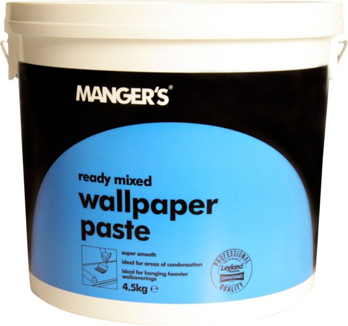 Mangers Heavy Duty Ready Mixed Wallpaper Adhesive 4.5Kg