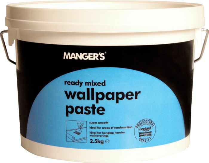 Mangers Heavy Duty Ready Mixed Wallpaper Adhesive 2.5Kg